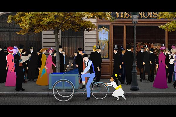 ディリリとパリの時間旅行 Dilili in Paris