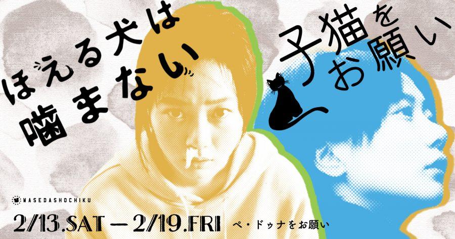 【2021/2/13(土)~2/19(金)】『子猫をお願い』/『ほえる犬は噛まない』